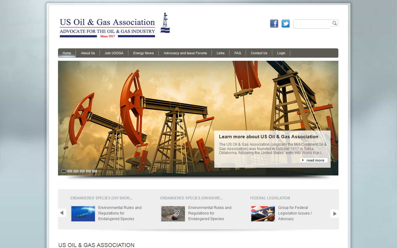 US Oil & Gas Association