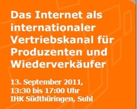 The Internet as an international sales channel for manufacturers and resellers