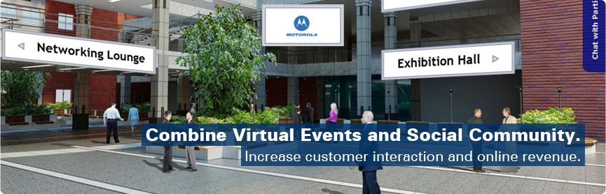 Deliver virtual events, replace or extend existing ones. Much more benefits, less costs.