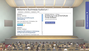 Virtual Event Auditorium